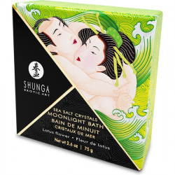 SHUNGA CRYSTALS BATH SALTS LOTUS FLOWER 75G