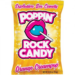 POPPING ROCK CANDY ORANGE CREAMPOP