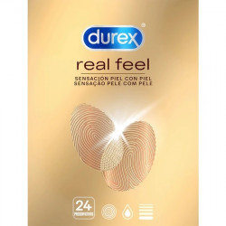 DUREX REAL FEEL 24 UDS