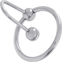 ANILLO SPERMSTOPPER ACERO 28 MM PLATA